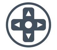 Controlador Button do jogo ilustração do vetor