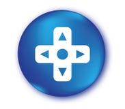 Controlador Button do jogo Imagens de Stock Royalty Free