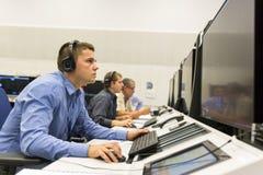 Controlador da autoridade de serviços do tráfico aéreo imagem de stock royalty free