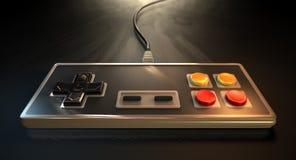 Controlador do jogo do vintage Foto de Stock Royalty Free