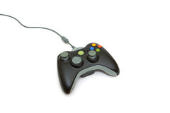 Controlador do jogo video fotografia de stock