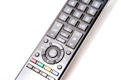 Controlador do telecontrole da tevê Foto de Stock