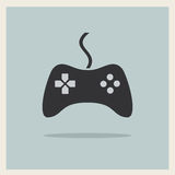 Controlador Joystick Vetora do jogo de vídeo do computador Fotografia de Stock