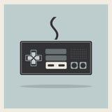 Controlador Joystick Vetora do jogo de vídeo do computador Imagens de Stock