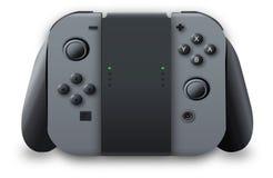 Controlador para o interruptor de Nintendo Imagens de Stock Royalty Free