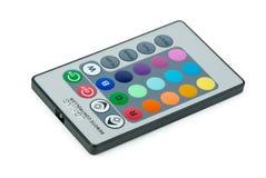 Controlador remoto para a lâmpada do diodo emissor de luz do RGB Imagens de Stock Royalty Free