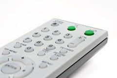 Controlador remoto para a tevê e o DVD Fotos de Stock