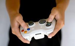 Controlador sem fio do jogo video Imagens de Stock Royalty Free