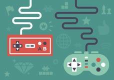 Controladores do jogo Imagem de Stock Royalty Free