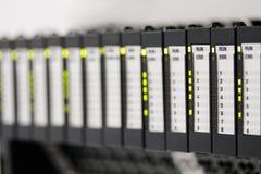 Controladores programáveis da lógica Foto de Stock Royalty Free