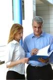 Controlar el informe.   Foto de archivo libre de regalías