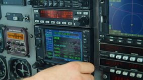 Controlar un aeroplano almacen de video