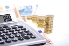 Controle 2 van het contante geld Stock Afbeeldingen