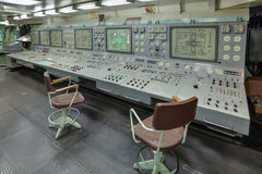 Controle central Fotografia de Stock