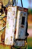 Controle da eletricidade Imagem de Stock