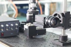Controle da inspeção da câmera Foto de Stock Royalty Free