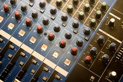 Controle da música Imagens de Stock Royalty Free