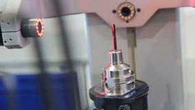 Controle da qualidade da peça da máquina Processamento do laser da peça de metal Raios do laser filme