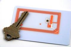Controle de acesso usando o rfid Imagens de Stock
