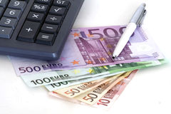 Controle de custo Imagem de Stock Royalty Free
