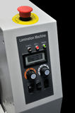 Controle de máquina Panal da laminação Fotografia de Stock Royalty Free