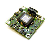 Controle de sensor video do minichamber digital fotografia de stock royalty free