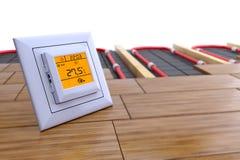 Controle de temperatura Fotografia de Stock