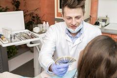 Controle dental imagens de stock royalty free