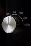 Controle do botão do poder do microwaver Imagens de Stock Royalty Free