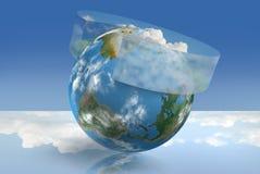 Controle do clima ilustração royalty free