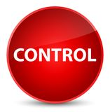Controle elegante rode ronde knoop Royalty-vrije Stock Foto's