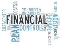 Controle financeiro Imagem de Stock