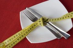 Controle a obesidade foto de stock