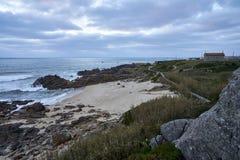 Controle over het strand royalty-vrije stock foto