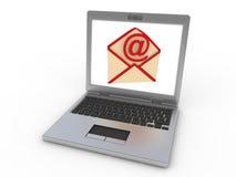 Controle su email stock de ilustración