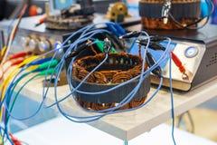 Controle van een voorwaarde van winding van de automobiele generator stock afbeeldingen