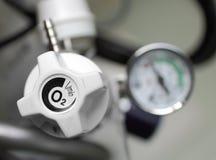Controleer de stroom van zuurstof Royalty-vrije Stock Foto's
