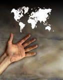 Controleer de wereld royalty-vrije illustratie