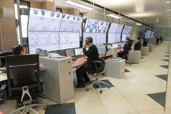 Controlekamer royalty-vrije stock afbeelding