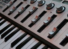 Controlemechanisme 2 van het toetsenbord Royalty-vrije Stock Foto's