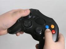 Controlemechanisme 3 van het videospelletje royalty-vrije stock foto