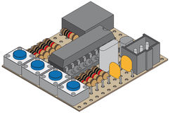 Controlemechanisme LANC Royalty-vrije Stock Afbeelding