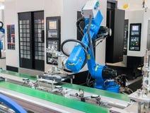 Controler de main robotique Images stock