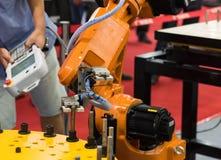 Controler de main robotique Image stock