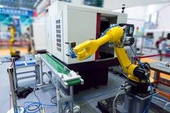 Controler de main robotique photographie stock