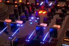 Controler du DJ Photos libres de droits