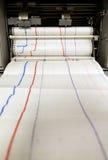 Controlerende drukmachine Royalty-vrije Stock Afbeelding