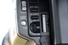 controles da câmara de vídeo Foto de Stock Royalty Free