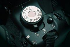 Controles da câmara digital Fotos de Stock Royalty Free