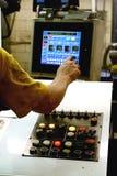 Controles da imprensa de impressão Imagem de Stock